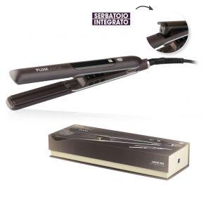 Piastra professionale Plum Vapor by Labor al vapore per capelli lisci e soffici in breve tempo temperatura regolabile a 180°C e 230°C