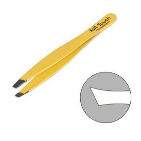 Colored Tweezers with Oblique Tip - J pack