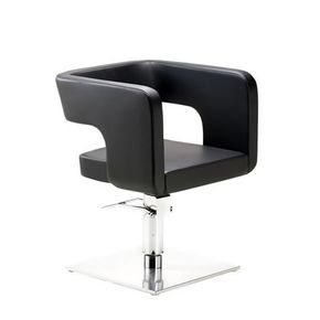Swivel chair with a sleek cozy design