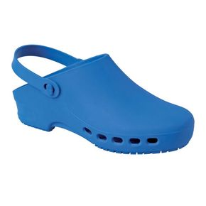 Rubber Clogs with holes - Blue