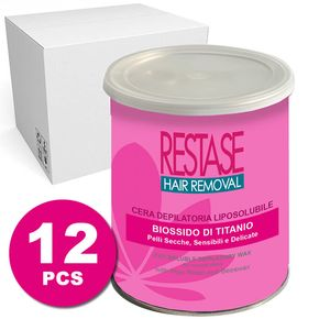 12 Jars of Hair removal Wax - Bioxide Pink Titanium