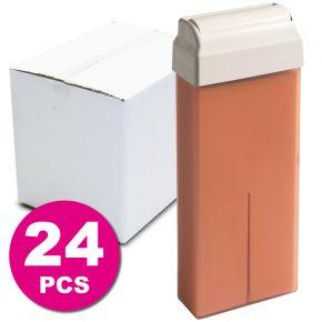 24 Refills Pink Titanium Wax - Box