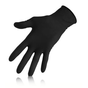 Latex gloves for hair dyeing - 10 Pairs