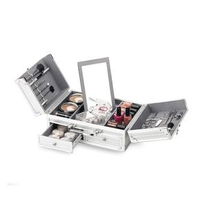 Valigetta professionale make-up porta trucchi in alluminio