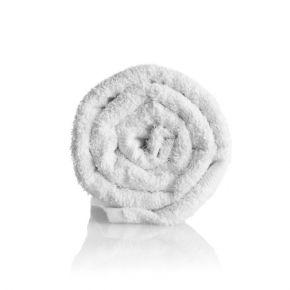 Asciugamano in spugna 100% cotone NAZIONALE bianco misura 50x90 cm - confezione 12 pezzi