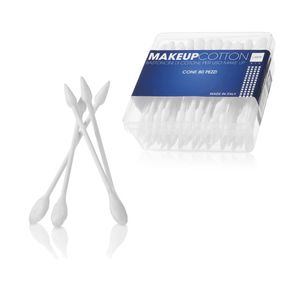 Bastoncini di cotone per uso make up - 80pz