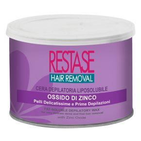 Cera per pelli delicatissime e prime depilazioni all'ossido di zinco in vaso da 400 ml