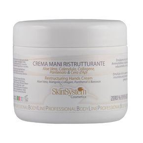 RESTRUCTURING HANDS CREAM Aloe Vera, Marigold, Collagen, Panthenol, Beeswax