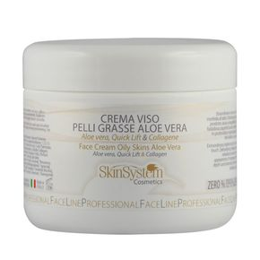FACE CREAM OILY SKINS ALOE VERA Aloe vera, Quick Lift, Collagen