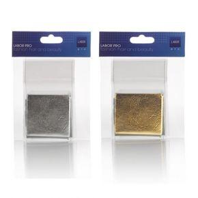 Fogli FOIL per nail-art argento e oro