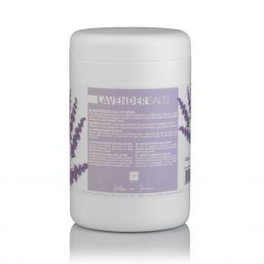 Pedicure lavender salts - 1 kg