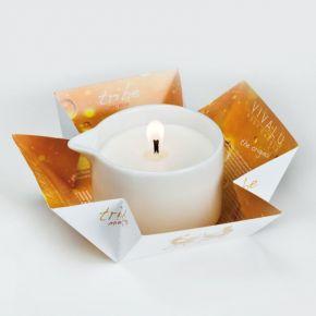Honey cosmetic massage Candle