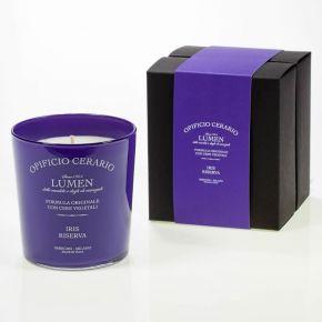 Candela aromatica al Iris Riserva 300ml