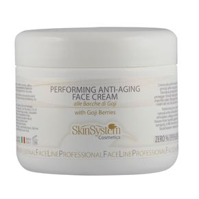 Performing Anti-Aging Face Cream alle bacche di Goji in vaso da 250ml