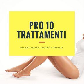 Kit epilazione PRO 10 trattamenti per pelli secche, sensibili e delicate