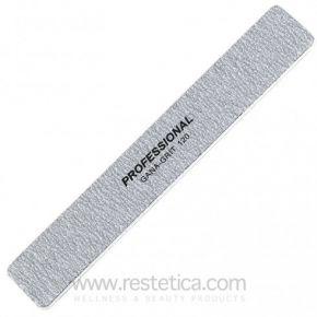 Lima rettangolare unghie Kiepe due grane 120/120 con anima flessibile in PVC