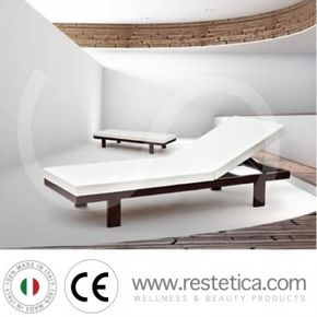 Wellness bed for relaxation area