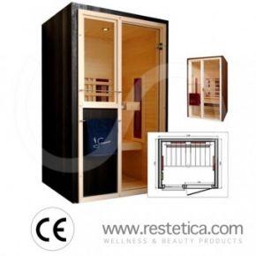Sauna Infrarossi 1000X1200 mm  - Novità