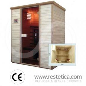 sauna ad infrarossi 120x180