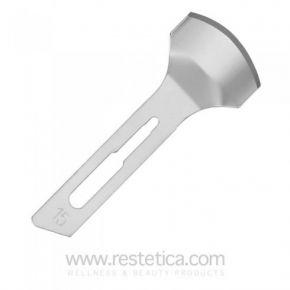 Lame sgorbie sterilizzate podologia BladeSafe Misura 15 - Confezione da 20pz