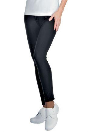 Leggings lungo donna 97% cotone - 3% spandex colore nero cod. RE024611