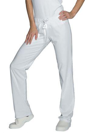 Panta jersey donna 97% cotone - 3% spandex colore bianco cod. RE024600