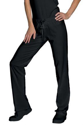 Panta jersey donna 97% cotone - 3% spandex colore nero cod. RE024601