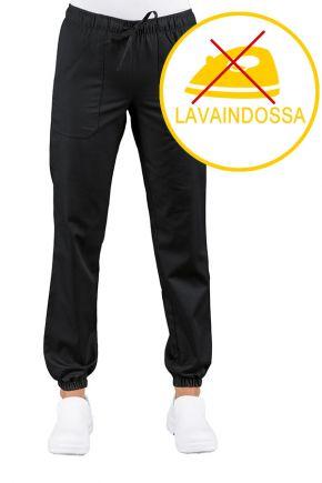Pantalone UNISEX con elastico albicocca misto