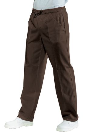 Pantalone UNISEX con elastico cacao misto