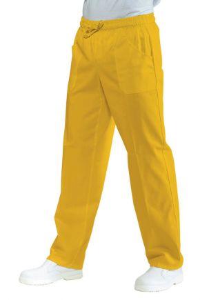 Pantalone Unisex con elastico 65% polyester 35% cotone colore sole cod. RE044714