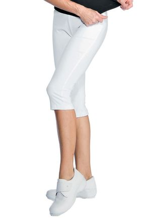 Leggings jersey bianco 97% cotone