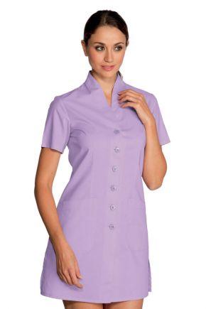 Casacca con bottoni lilla 65% polyester 35% cotone