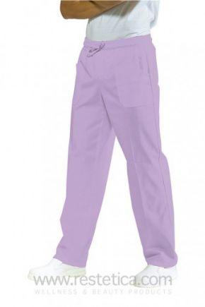 Pantalone UNISEX con elastico lilla 100% cotone