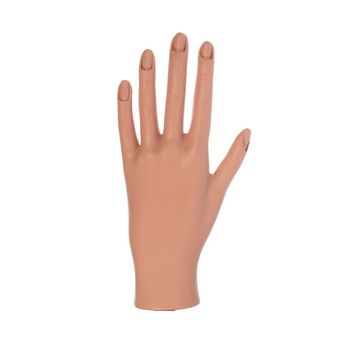 Plastic Hand for MANICURE practice - 2 LEFT