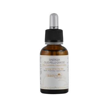 SYNERGY OIL FOR OILY SKIN Thyme, Rosemary, Sage, Cajeput
