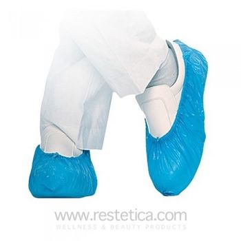 Disposable Shoe covers in PVC - Blue