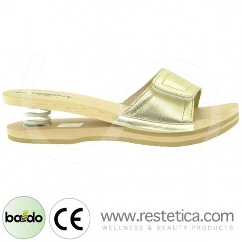 Baldo Clogs with Velcro - Platinum