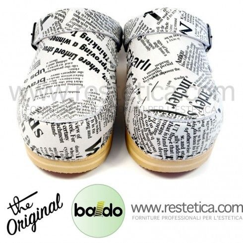 Closed Baldo Clogs w/Lace - Fantasy