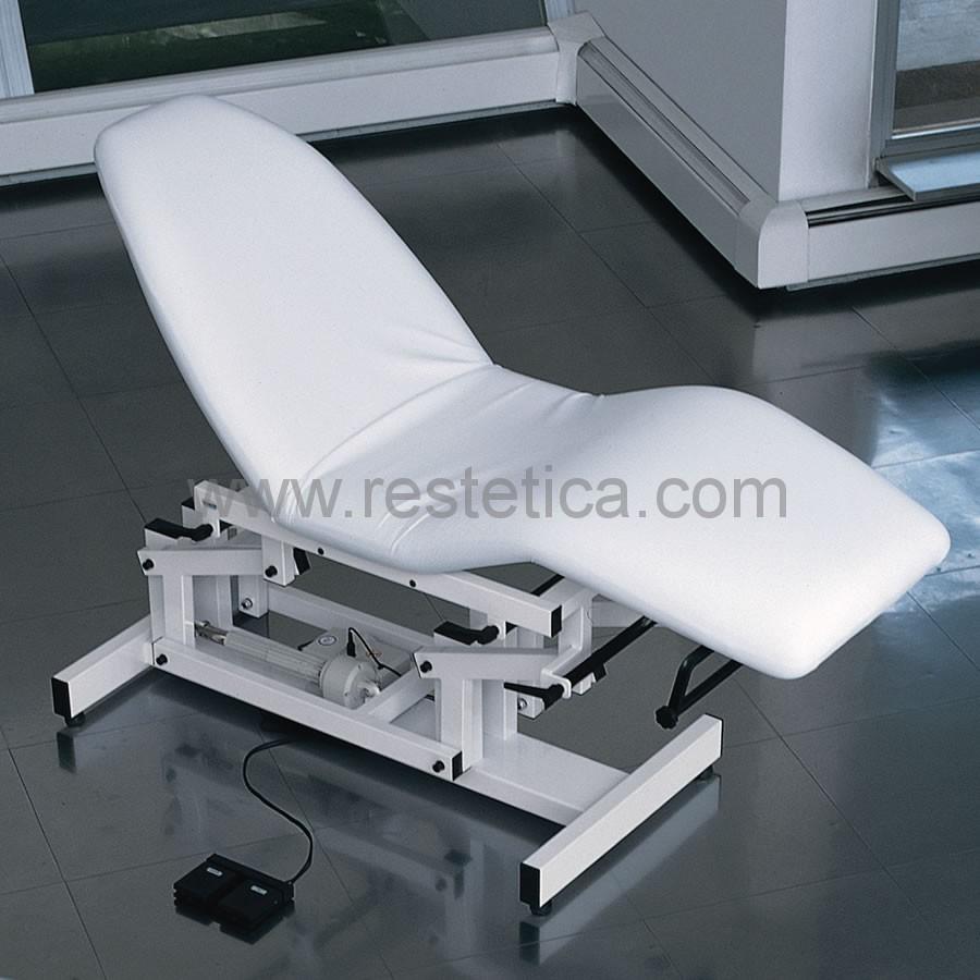 Letto polifunzionale per massaggio estetico e trattamenti viso/corpo
