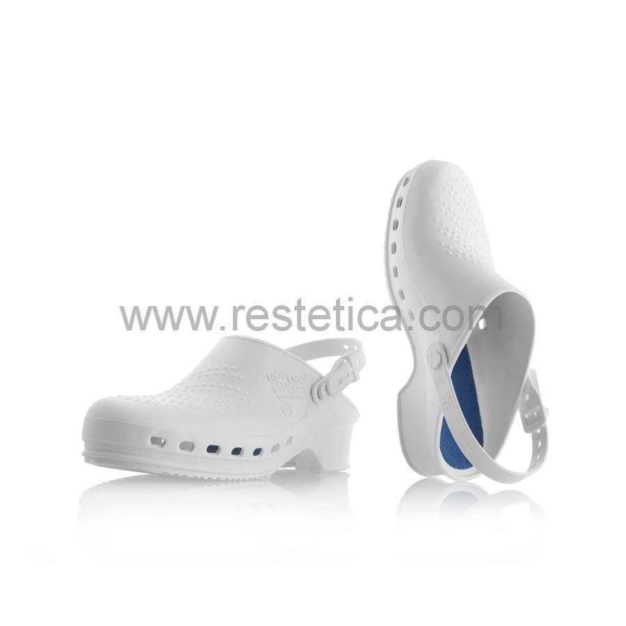 Calzare in gomma REPOSA per uso professionale con suola antiscivolo sterilizzabile in autoclave fino a 134°