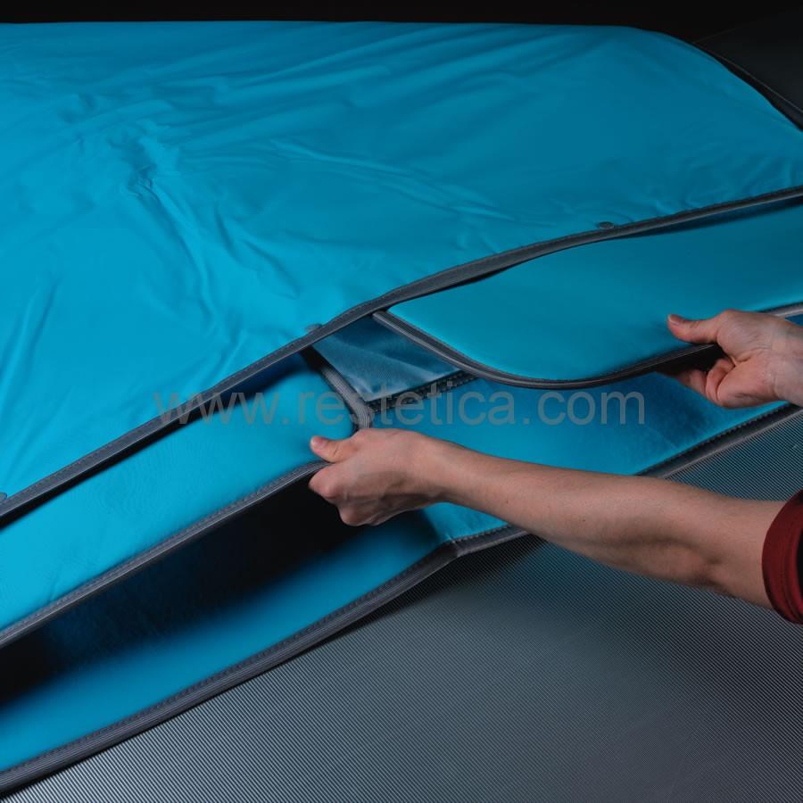 Termocoperte Professionali Per Estetica.Termocoperta Professionale Ideale Per Trattamenti Sauna A 3 Settori