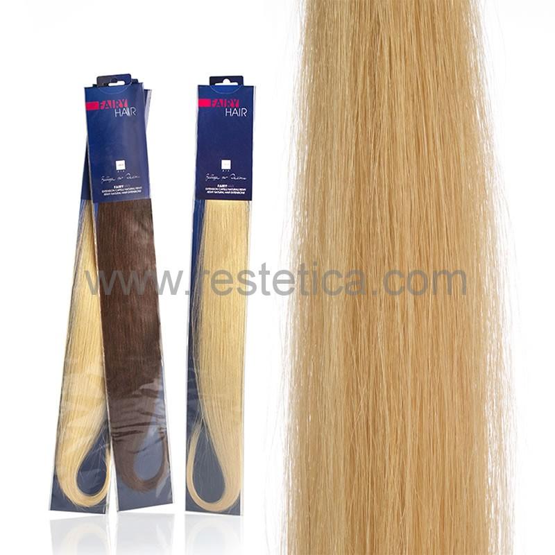 Extension capelli naturali da 50cm colore DB3 biondo dorato sistema Remy - confezione da 20 ciocche