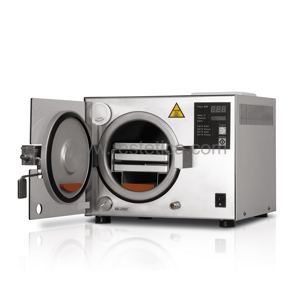 Autoclave Professionale per la sterilizzazione AXYIA 6.0 - CLASSE S capacità camera 6 litri