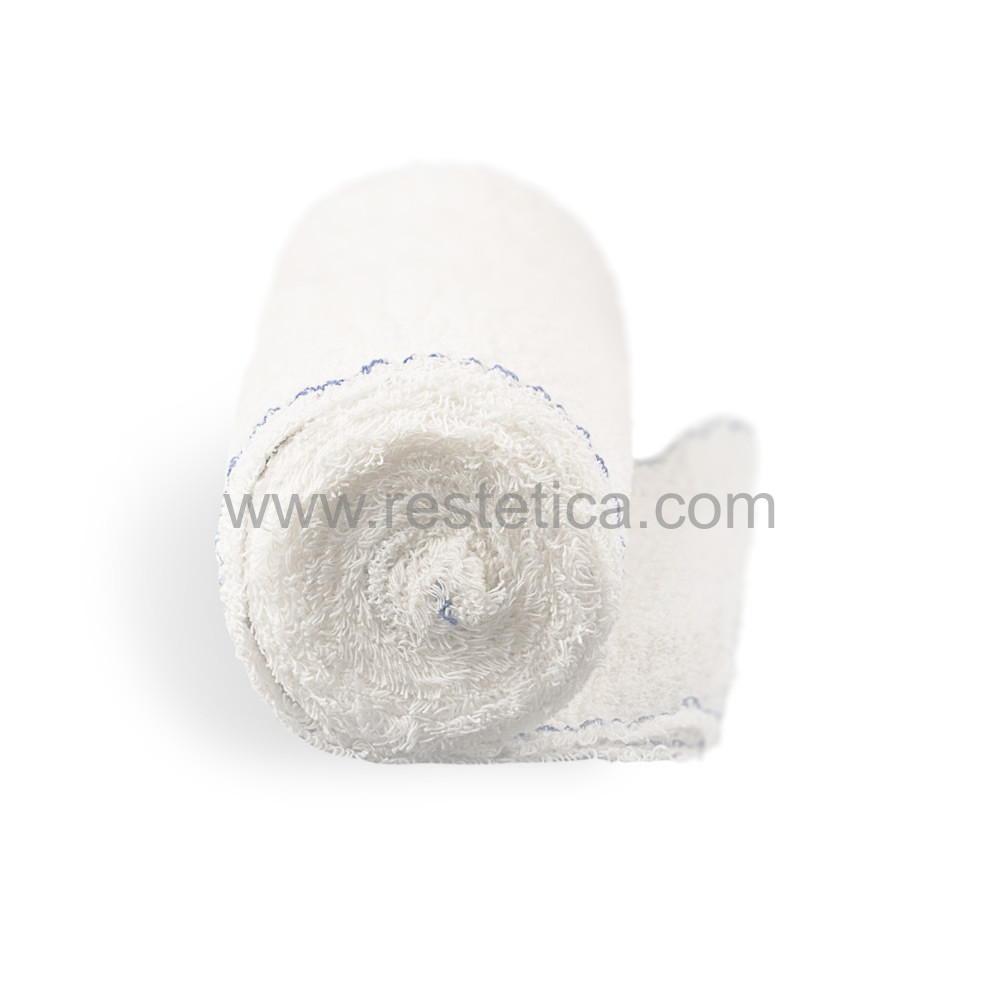 Benda elastica Cotton Bandage in crepe di cotone ideale per bendaggi e trattamenti - Dimensioni Lunghezza 5m Altezza 20cm