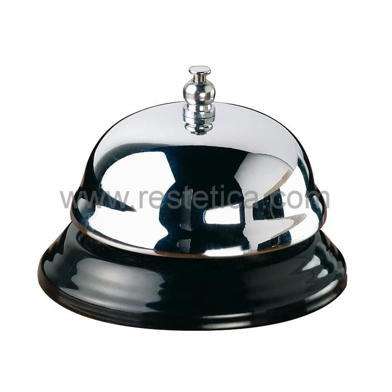 Campanello da banco reception in acciaio ø cm.10
