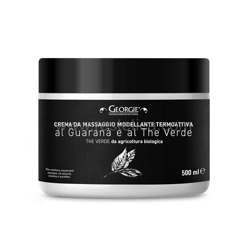 Crema massaggio modellante Termoattiva linea Georgie 500ml