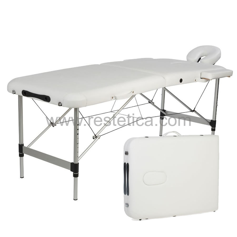 Lettino Massaggio Portatile In Alluminio.Lettino Valigia Da Massaggio Portatile Robusto E Leggero Per Il