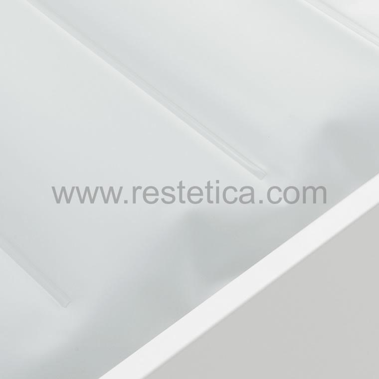 Ricambio materassino cuscino ad acqua per lettino termale estetico con 4 settore - dimensioni 74x66xh6,5 cm