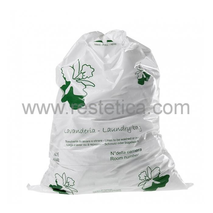 Sacchetto in plastica per lavanderia misura 39x54cm - confezione 100pz