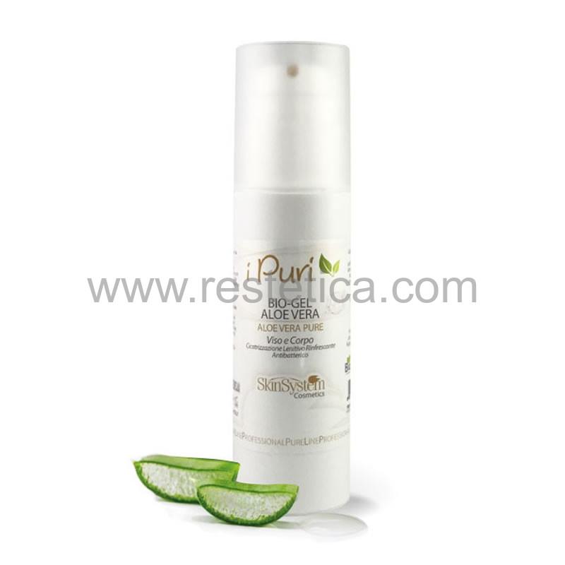 Bio Gel puro all'Aloe Vera biologica Skin System 100% Naturale - flacone 150 ml